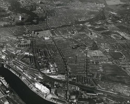 Byker - aerial view