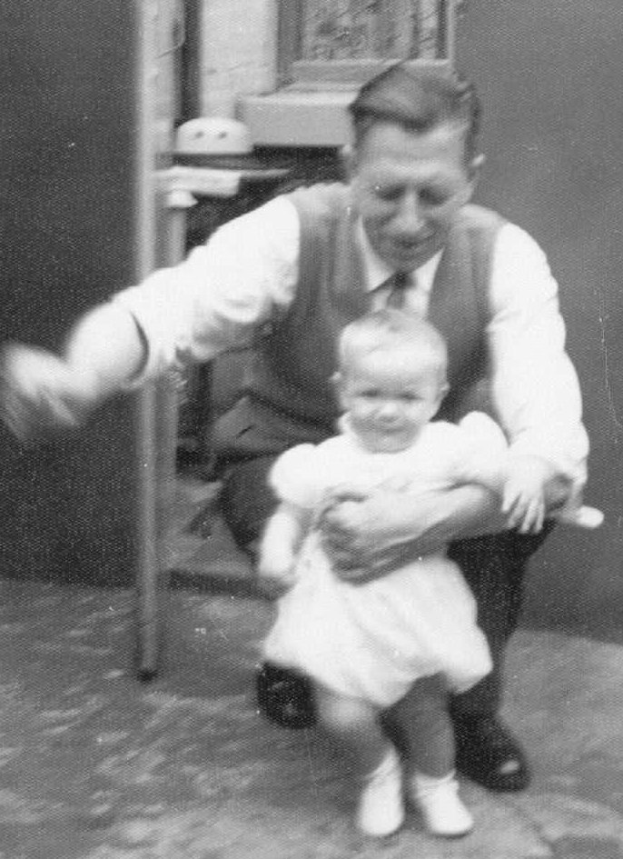 Bill Taylor and daughter Evelyn