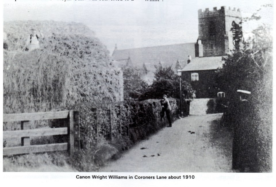 Coroner's Lane 1910