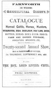 Farnworth Fair 1886