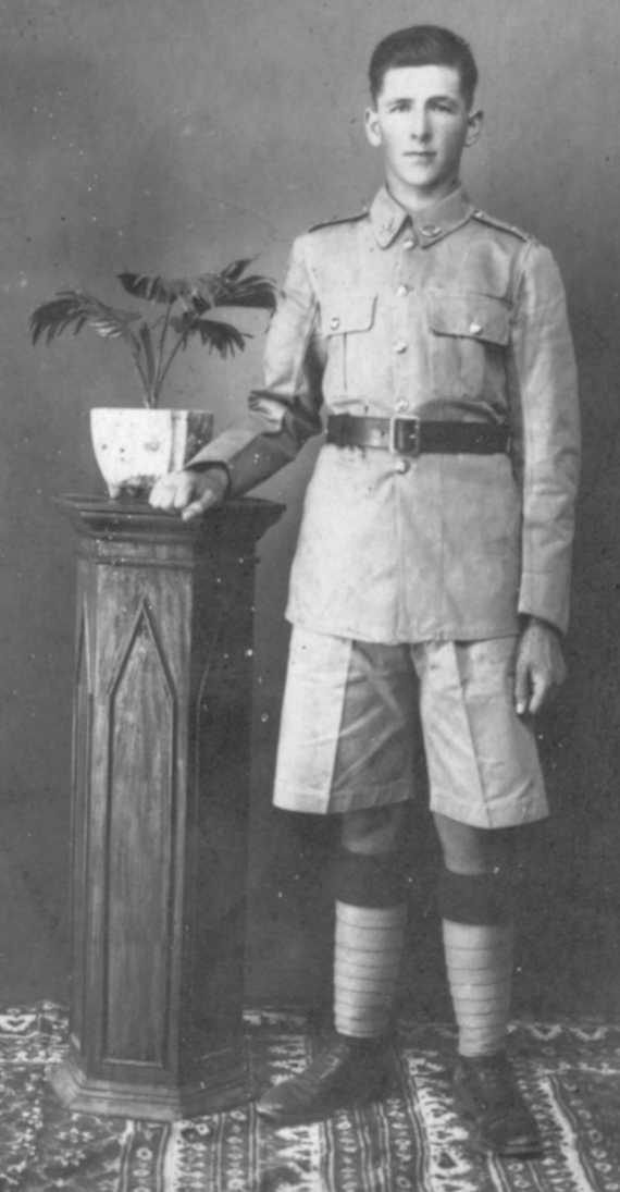 Ike in the British Army in India