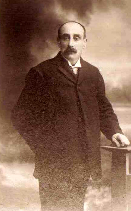 Joseph (Joe) Almond 1866 - 1929, photo courtesy Dorothy Follis