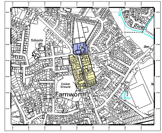 Map of Medieval Farnworth Village