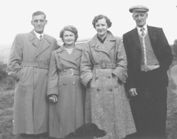 Norman, Alice, Peggy and Jim, 1960's