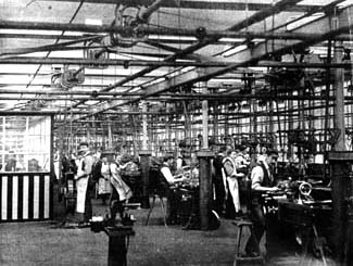 Tool Room at Lancashire Watchmakers